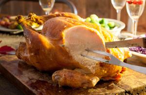 Mrs. Claus favorite way to roast a turkey